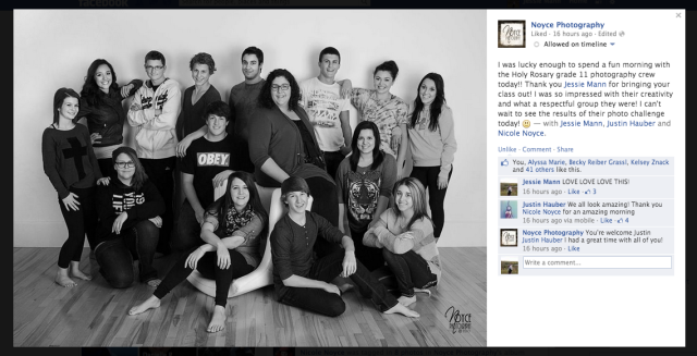 Media Shout Out! Thank you to the 2012 Saskatchewan Portrait Photographer of the Year for working with us!