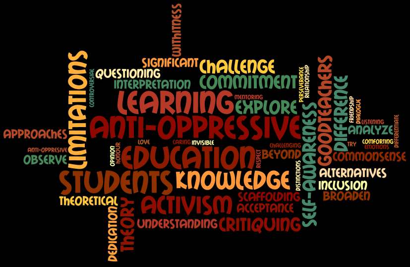 oppressive education Education radio is committed to exposing the profit driven interests fueling current education policies while addressing issues of true equity and access in public education monday, november 21, 2011 multicultural and anti-oppressive education.