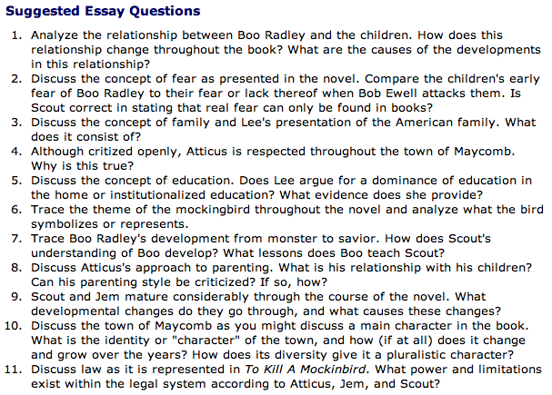 to kill a mockingbird jessie h mann essay assignment topics from grade saver to kill a mockingbird facts