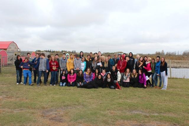Our special Grade 11 crew!