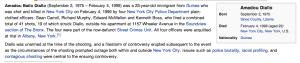 Information taken from:  http://en.wikipedia.org/wiki/Amadou_Diallo_shooting