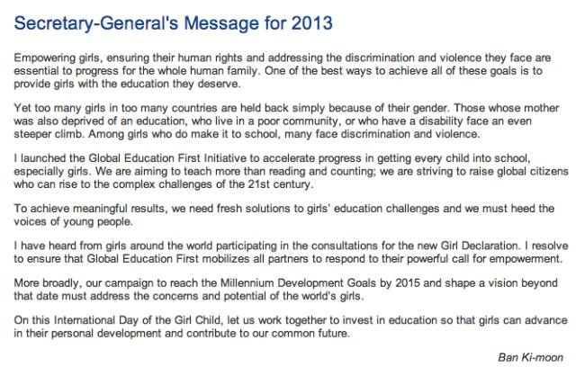 http://www.un.org/en/events/girlchild/2013/sgmessage.shtml