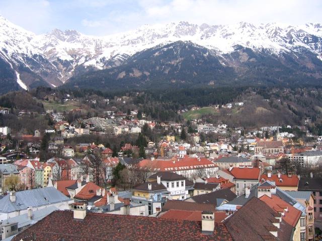 Innsbruk, Austria Panoramic