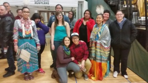 Here is a chunk of the Dream Catcher crew at the Rustler game!