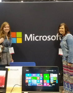 Jenn Zettel and Nicole Blais are 2015 Microsoft Expert Educator's and Lloyd Catholic and the #lcsdtech team couldn't be proud of the INSANE work they do with their co-learners.