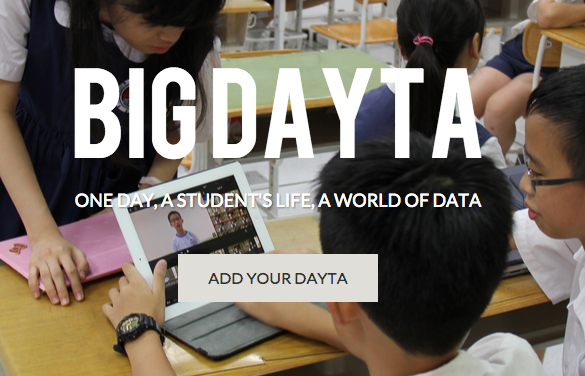 We will be participating in the Big Dayta Project. It will take minutes today.